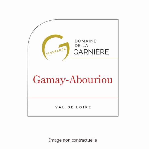 Etiquette-Gamay-Abouriou-Garniere