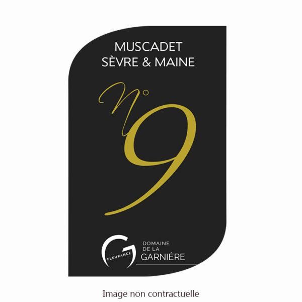 Etiquette-Muscadet-cuvee-n°9-Garniere