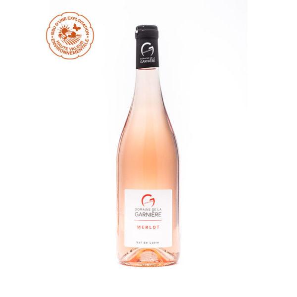 Merlot rosé IGP Val de Loire Rosé